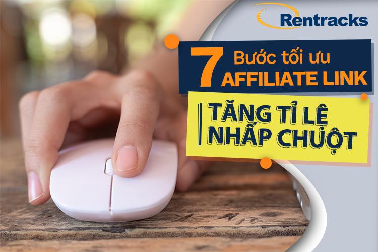 tối ưu affiliate link tăng tỷ lệ nhấp chuột