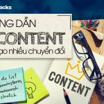 Hướng dẫn viết content tạo nhiều chuyển đổi