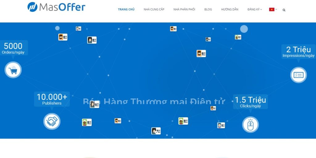 Affiliate Network uy tín ở Việt Nam: MasOffer