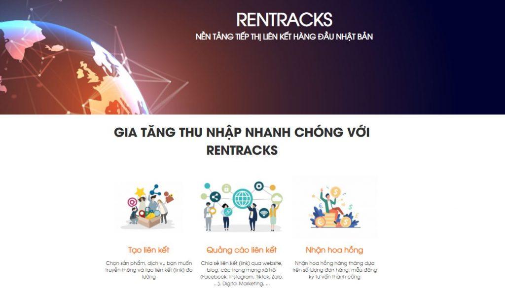 Affiliate Network uy tín ở Việt Nam: Rentracks Việt Nam